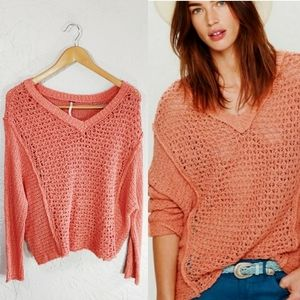 Free People Baja Laguna Coast Knit Sweater